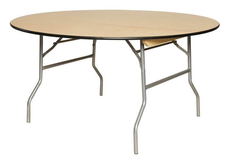 60 Round Table (Wood)