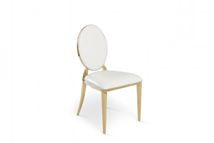 Gold O Sleek Chair