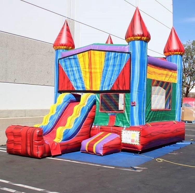 Mini Rainbow Castle Combo $179