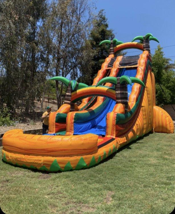 Inflatable Waterslides
